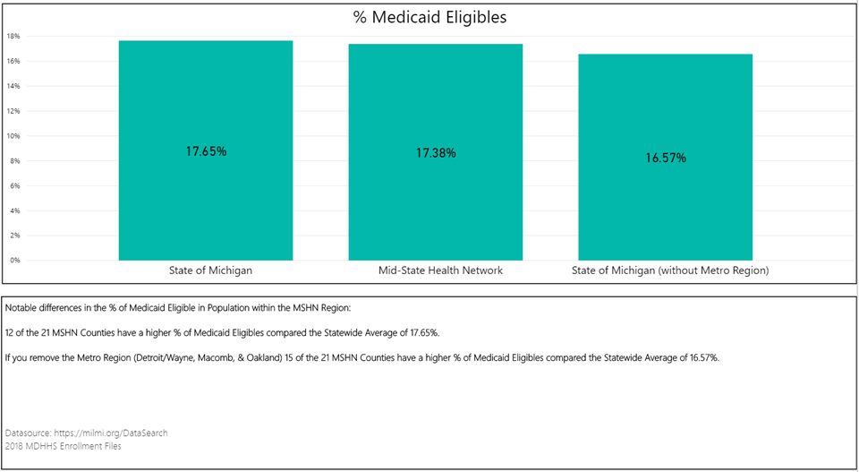 Medicaid Enrollment in Michigan